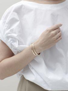 bracelet bronze new open cuff