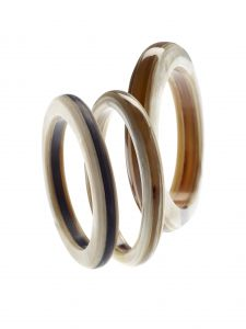 bracelet horn laminated thin